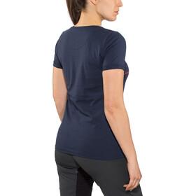 Triple2 Laag Bike T-Skjorte Dame peacoat